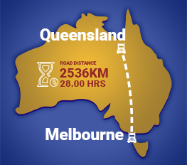 Melbourne to Queensland Removalists