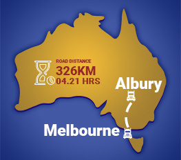 Melbourne to Albury Removalists