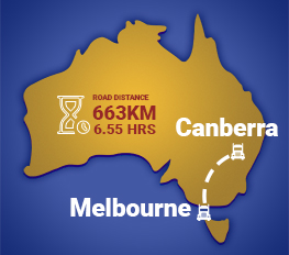 Canberra to Melbourne Removalists