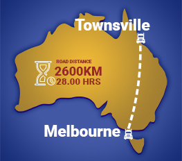 Melbourne to Townsville Removalists
