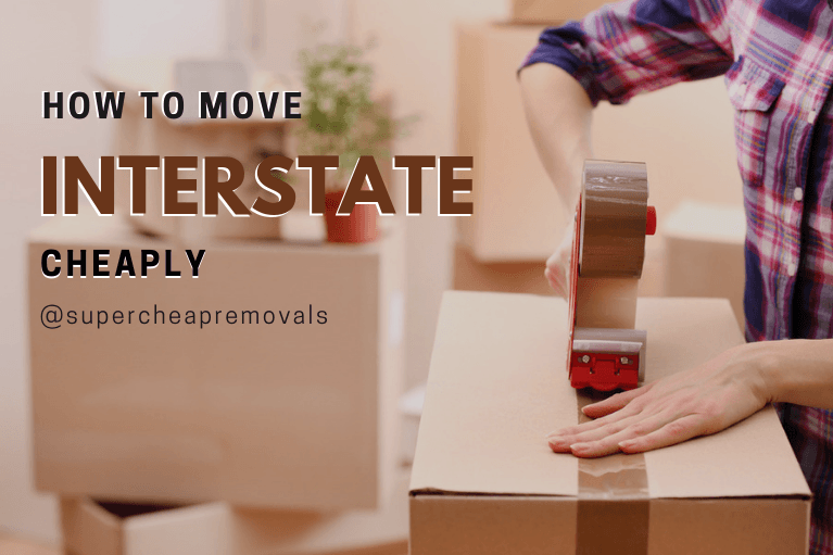 how to move interstate cheaply