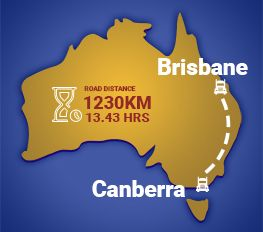 Canberra to Brisbane Removalists