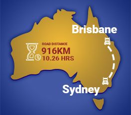 Sydney to Brisbane Removalists