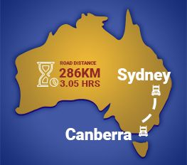 Sydney to Canberra Removalists