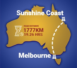 Melbourne to Sunshine Coast Removalists