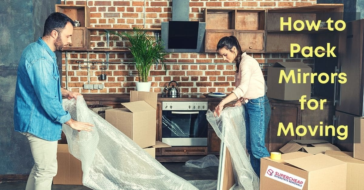 How to Pack Mirrors for Moving - FB banner